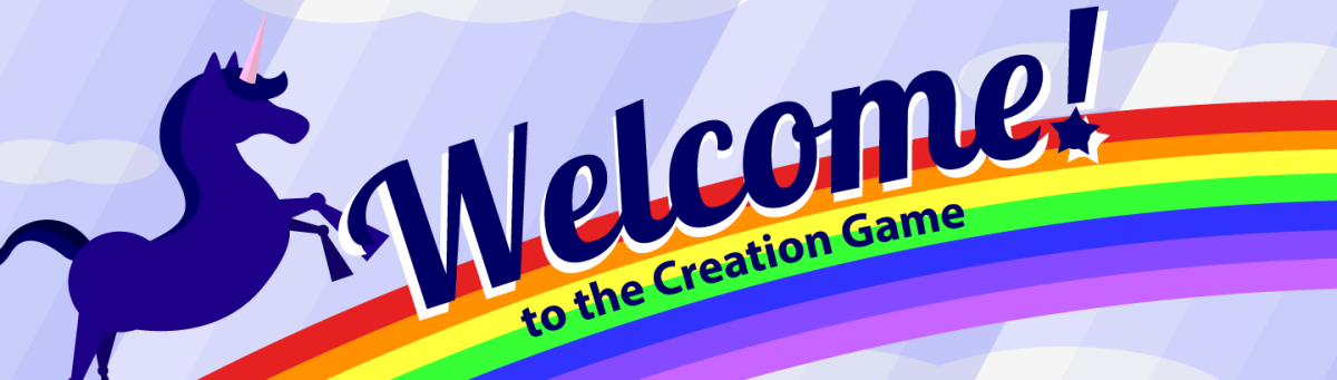 Welcome to the Creation Game